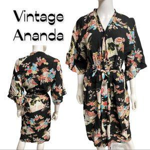 Vintage Ananda lightweight Robe Kimono M